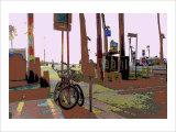 Park, Venice Beach, California Giclee Print by Steve Ash