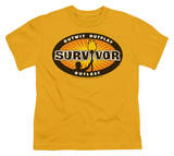 Youth: Survivor - Gold Burst T-shirts