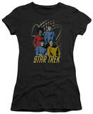 Juniors: Star Trek - Warp Factor 4 T-shirts
