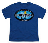 Youth: Survivor - Blue Burst T-Shirt