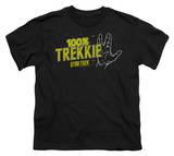 Youth: Star Trek - 100% Trekkie T-shirts