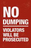 No Dumping Photo