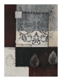 Silver Damask I Giclee Print by Connie Tunick