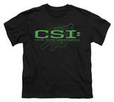 Youth: CSI - Sketchy Shadow T-shirts