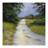 Quiet Backroad Giclee Print by Robert Striffolino