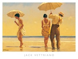 Verr&#252;ckte Hunde Kunstdrucke von Jack Vettriano