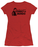 Juniors: Happy Days - Correct A Mundo T-shirts