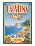 Catalina by Air Giclee Print by Kerne Erickson