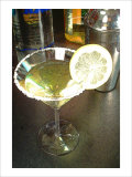 Lemon Drop Cocktail Giclee Print by Steve Ash