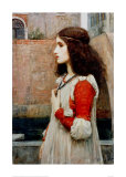 Juliette Reproduction procédé giclée par John William Waterhouse