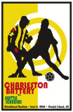 Charleston Battery vs.Seattles Sounders Plakater af Christopher Rice