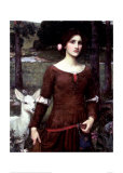 The Lady Clare Giclee Print by John William Waterhouse