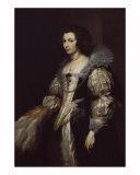 Maria Louisa de Tassis Giclee Print by Sir Anthony Van Dyck