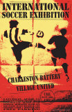Charleston Battery vs. Village United Poster by Christopher Rice