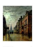 Park Row, Leeds Giclee Print by Louis Grimshaw