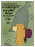 Othello: Good Name Posters par Christopher Rice