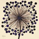 Lilac Bubble Flower Prints by Alan Buckle
