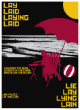 Grasping Grammar: Lay Lie Posters by Christopher Rice