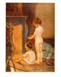 Apres le Bain Prints by Paul Peel