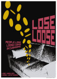 Grasping Grammar: Lose Loose Poster von Christopher Rice