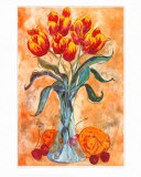 Tulips in a Vase Prints by Gemma Cotsen