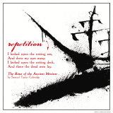 Literary Techniques: Repetition Affiches par Jeanne Stevenson