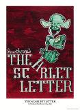 Scarlet Letter Print by Ryan Mckowen
