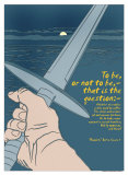 Hamlet: To Be or Not To Be Poster by Christopher Rice