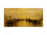 Chichester Canal Art by J. M. W. Turner