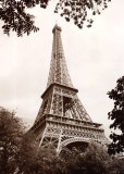 Eiffel Tower in Spring Prints by Jonathan Larsen