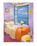 Bedroom Poster by Paula Nightingale