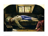 The Death of Chatterton Giclee Print by Henry Wallis