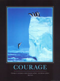 Courage Affiches par Steve Bloom