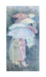 Umbrellas Posters by Hélène Léveillée