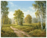 Sunny Afternoon Prints by H. Buchner