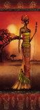 Masai Lady Warrior Posters av Nicola Rabbett
