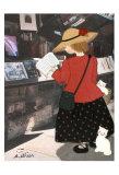 La Bouquineuse Posters by Diane Ethier