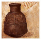 African Pot Prints by A. Vargas