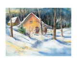 Winter Magic Prints by Lisette Cantin