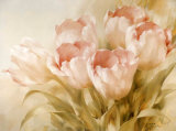 Tulipani rosa Poster di Igor Levashov