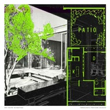 Green Patio Posters