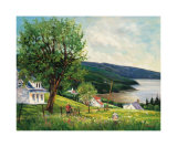 Summer in Charlevoix Prints by Georges Dedoyard