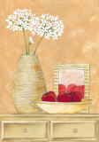 Apples and Flowers I Print by Patrizia Moro