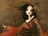 Bambous Affiches par  Misstigri
