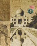 Voyage to India Print