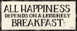 Leisurely Breakfast Affiches par Kathrine Lovell