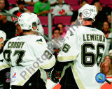 Sidney Crosby & Mario Lemieux 2005-06 Photo
