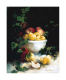 Delicious Fruits Print by Lise Auger