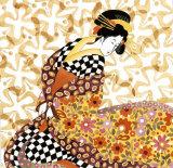 Seventies Print by Anne Bernard