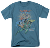 DC Comics - In League T-shirts